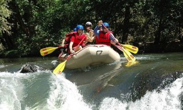 TENORIO RIVER WHITE WATER RAFTING CLASS III&IV ONE DAY TOUR .